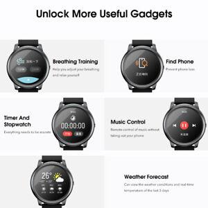 BT 5.0 Haylou Solar LS05 Full Round Screen Wristband 12 Sport Modes Tracker