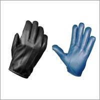 MADE WITH KEVLAR  POLICE ANTI SLASH FIRE RESISTANCE COWHIDE LEATHER GLOVES