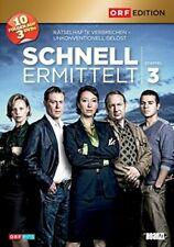 Schnell ermittelt - Gesamtbox 3. Staffel: Folge 19-28 [3 DVDs] - SEHR GUT
