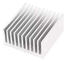 Square Aluminium Cooler Fin Radiator HeatSink 40x40x20mm CPU GPU IC CHIP PC