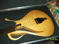 Paradis Guitar Rolf Spuler Electris Acoustic Firewire Synth Polybass onboard!