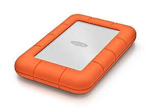 LaCie USB 3.0 Type-C 2.5E 4TB Rugged Mini Portable Hard Drive Rubber Sleeve