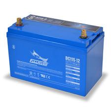 BAFRDC115-12 Fullriver Full Force AGM Deep Cycle Batteries 115AH/12V Quantity 1