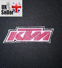 KTM Hierro-Encendido/Sew-on Bordado Parche Motocicleta Motocross