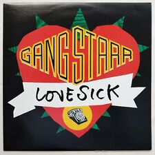 1991 - GANG STARR - LOVE SICK / CREDIT IS DUE - CHRYSALIS RECORDS PROMO ORIGINAL