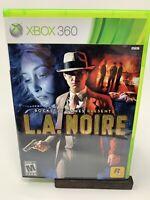 Rockstar Games Presents LA Noire Microsoft Xbox 360 Complete CIB