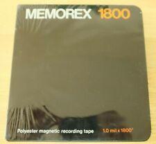 Memorex Reel to Reel Magnetic Tape 1800 Feet 7 Inch Sealed Packet (Hospiscare)