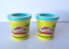 Bright Blue PLAY-DOH Modeling Clay, TWO 3 oz Cans (6 oz) Play Dough Compound