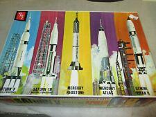 Man In Space Saturn V Rocket & Apollo Spacecraft 5 Complete NASA Rocket KIT NEW!