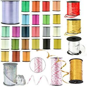 5mm Curling Ribbon 24+ Different Colour For Balloon/Craft/Gift Wrap/Art🎈🎀