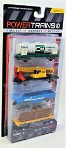 Power Trains Industrial Freight Tank SR1 JAKKS Railroad Car Toy Figures 48633