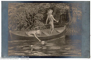 AK Fidus Nr. 50: Wasserrosen , nicht gelaufen, um 1910