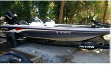 Bass boat nitro 898 full sized boat! 20 ft 4 inch