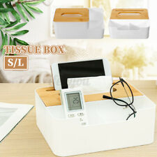 Tissue Box Toilet Paper Storage Case Napkin Holder Home Office Car