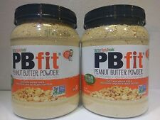PB Fit- Powdered Peanut Butter - 2 Pack - Gluten Free, USA Peanuts - 60 Ounces