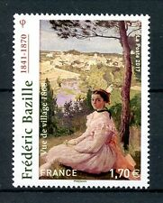 France 2017 MNH Frederic Bazille Vue de Village 1v Set Art Paintings Stamps