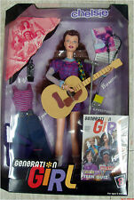 RARE Generation Girl Chelsie w/ 3 EARRINGS MIB vintage NRFB Recalled Barbie 1998