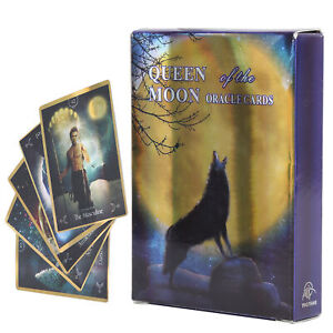 Tarot Card Deck Cards Fate Divination English Board Game Fun Interactive Toy New
