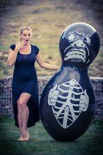 1 x CATTEX Riesen-Puppenballon MONSTER + VERSCHLUSS! *DOLL*BLACK*LOONER*