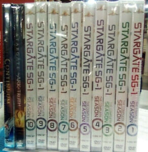 stargate sg-1 complete series dvd