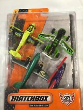 Matchbox On a Mission Sky Busters Safari Adventure Pack 4 Planes New