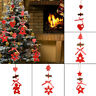 Noël Ornements bois véritable accessoires de pendentif Festival décora d'arbre