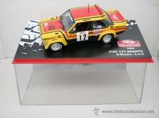 COCHE FIAT 131 ABARTH MOUTON ARRII 1980 metal model car Rally MONTECARLO ixo Ral