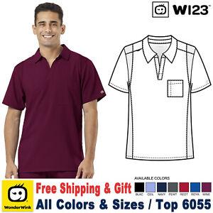 WonderWink Scrubs W123 Men's Modern Fit Collar Top