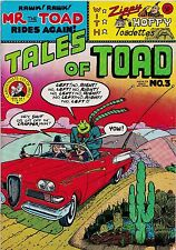 Tales Of Toad Number Three 1973 By Bill Griffith Cartoonists Co-Op Press Zippy