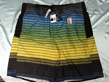 "MENS SWIM SHORTS~X X LARGE JOE BOXER INSEAM 10"" 100% POLYESTER NEW FREE SHIPPING"