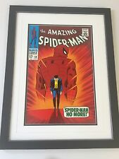 Framed Classic Marvel Comic Cover Posters - Amazing Spider-man
