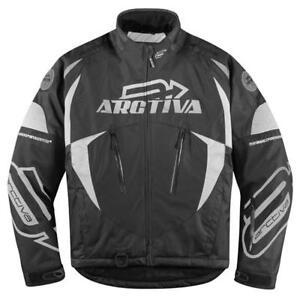 Brand New Arctiva Comp 6 Insulated Snow Jacket ~ Black ~ XL - # 3120-0848