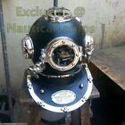 Divers Diving Helmet 18 Inch Deep Sea Scuba SCA U.S Navy Mark V Antique Marine