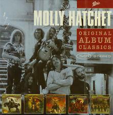 5x CD - Molly Hatchet - Original Album Classics - #A3042 - Neu -