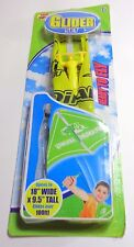 Top Toys Glider Set For Kids Open 18wide/9.5inch Tall Glides Over 100ft