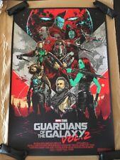 Guardians Of The Galaxy Vol. 2 Movie Poster Mondo Marvel Art Print Ken Taylor