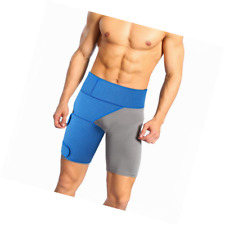 Hamstring Compression Support, Adjustable Neoprene Hip and Groin Brace for Pulle