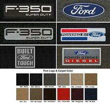 Lloyd Mats Ford F-350 Super Duty Velourtex Front Floor Mats (1999-2000)