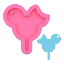 Mickey Mouse Silicone Mold Necklace Jewelry Keychain Pendant Resin Craft Mould C