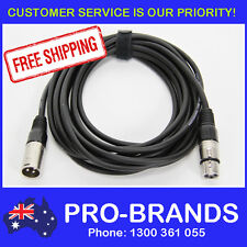 5 Metre XLR Pro QUALITY Male to Female M-F Microphone Mic Cable Lead Cord PA 5M
