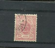 LUXEMBOURG YV # 43, USED, VF