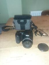 Nikon COOLPIX L340 20.2MP Digital Camera - Black - inc Soft Case, lead