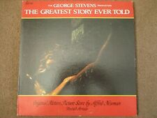 THE GREATEST STORY EVER TOLD - ORIGINAL MOTION PICTURE SCORE - LP - UAS 5120 -US