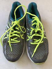 asics Mens Running Shoes gel Flux 3  Gray Green  Size 10.5