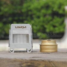 Stainless Steel Mini Pocket Stove Portable Folding Wood Stove LIXADA D0L1