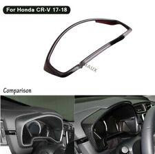 For Honda CRV CR-V 17-18 Carbon Fiber Style Dashboard Decorative Frame Trim New