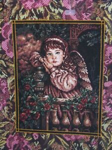 Dimensions Gold Collection Tapestry Angel Cross Stitch Kit 2450 Size 15x18