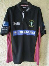 Maillot rugby CRAWSHAY'S WELSH RFC KOOGA shirt HAKA noir M