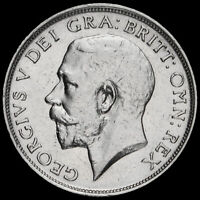 1913 George V Silver Shilling, GVF+