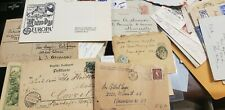 Worldwide Cover Lot 100 Items Early to Mid Century Some Fdc